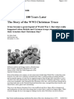 The Story of the WWI Christmas Truce
