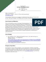 Syllabus_Sociology of Developing Nations