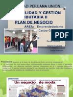 Diapositiva de Plan de Negocios