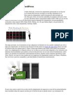 Alojamiento web WordPress