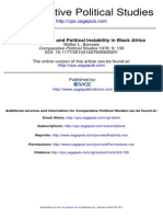 ETHNIC DIVERSITY AND POLITICAL INSTABILITY IN BLACK AFRICA