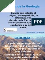 Origen de La Geología