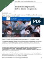 Los Jesuitas Eliminan Las Asignaturas, Exámenes y Horarios de Sus Colegios en Cataluña - ABC
