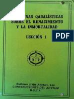 Doctrinas Cabalisticas 1-10
