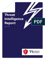 TRIAM - Threat Intelligence Report - April 15