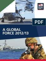 British Global Force 2013