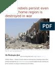 Yemeni Rebels Persist Even as Their Home Region is Destroyed in War