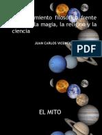 2.Filosofía, Mito, Ciencia