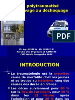 Dr Ksibi Le Polytraumatisé.ppt