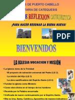 Dpto. de Catequesis..La Iglesia Vocación y Misión