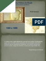 2012 - Aprofundamento - História - Jenner - Aula 7 História Política Do Brasil - 24-08