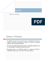 2012 2013 Topografia Areas Volumes