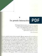 A praxis interativa