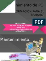 mantenimientodepcyredesmanuelybrenda-120614214718-phpapp01