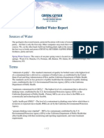 Bottled Water Report
