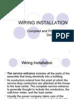 18. Wiring Installation