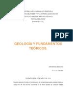 Ensayo de Geologia Oramaika Bracho