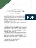 Salençon, J. and Pecker EC8 Foundation Bearing Capacity
