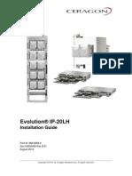 Ceragon Evolution IP20LH Installation Guide Rev a.01