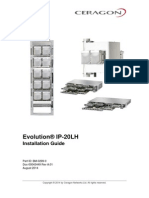 Ceragon Evolution IP20LH Installation Guide Rev a.01