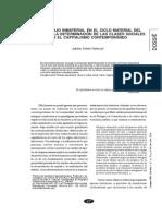 EL TRABAJO INMATERIAL EN EL CICLO MATERIAL DEL CAPITAL Y LA DETERMINACIÓN DE LAS CLASES SOCIALES EN EL CAPITALISMO CONTEMPORÁNEO