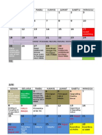 Timeline Harian-september Raja Brawijaya 2015