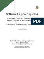 Software Engineering 2004