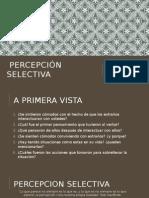 Percepción selectivafr