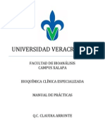 Manual de Practicas Bioquimica Clinica Especializada