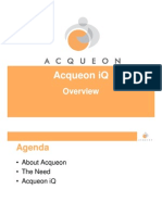 Acqueon iQ 3.0 - Detailed Presentation