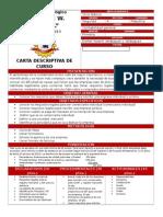 Carta Descriptiva Contabilidad 2do. Básico