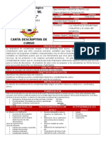 Carta Descriptiva Contabilidad Integral II 5to Computación