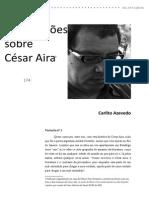 11. DOSSIÊ Carlito Azevedo - 13 Variações Sobre César Aira