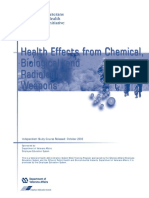 Chemical Biological Radiological Weapons
