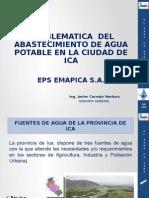 Problematica Del Abastecimiento de Agua Potable en La Ciudad de Ica
