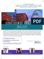 Ell Conference Brochure