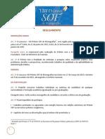 Regulamento Viii Premio Sof - Edicao 2015