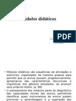 Módulos didáticos