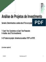 4- CF de Investimento