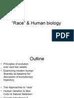 1 27 2015 Race Biology Ctools Version