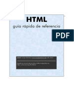 Manual Rapido de HTML