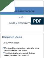 Sistem Respiratori Tingkatan 5