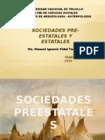 Sociedades Pre Estatales 2015
