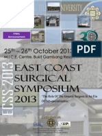FINAL Announcement ECSS 2013