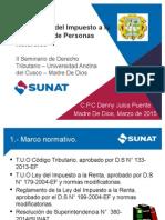 Devolución de Impuestos 2014 PPNN EXPO UAC