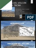 Geología Del Volcán Tutupaca- Tacna