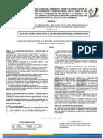 Convocatoria Inscripción y Revalidación 2014.