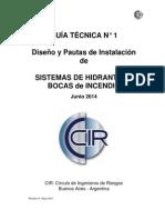 CIR-GT-Sistema de Hidrantes-Junio 2014 VF Rev01