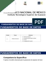 Fundamentos de BD-U3 Modelo Relacional