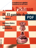 90.- Gambito de Dama Vol 1- Pachman